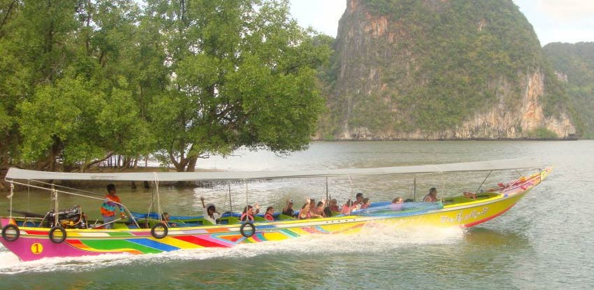Canoeing Trip at Talu Cave